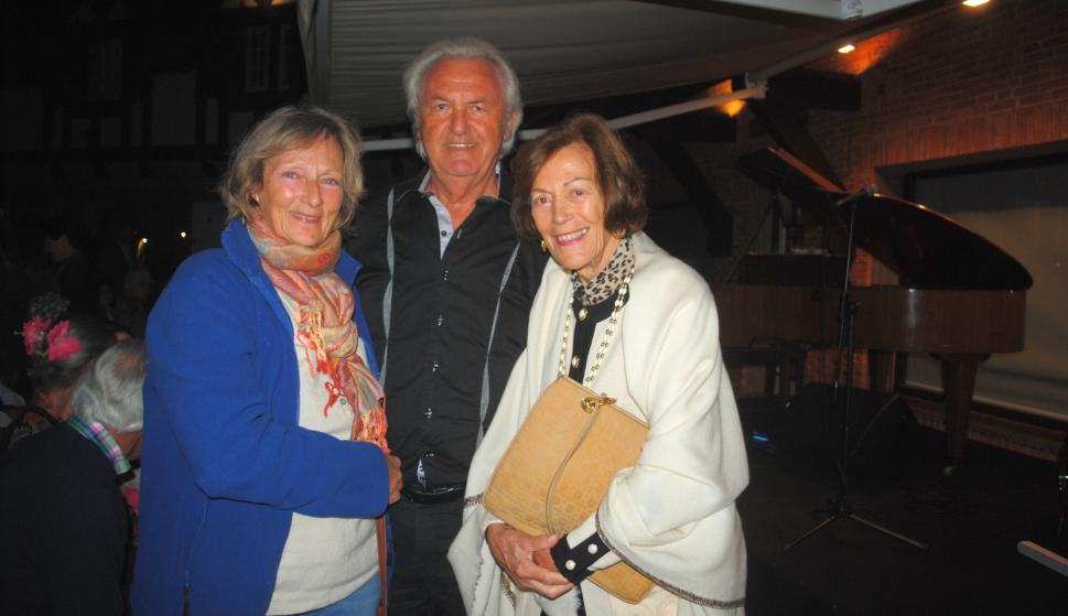 Condesa Rosario Waldburg, Lorenzo Loeppert, Renee Dejouany.