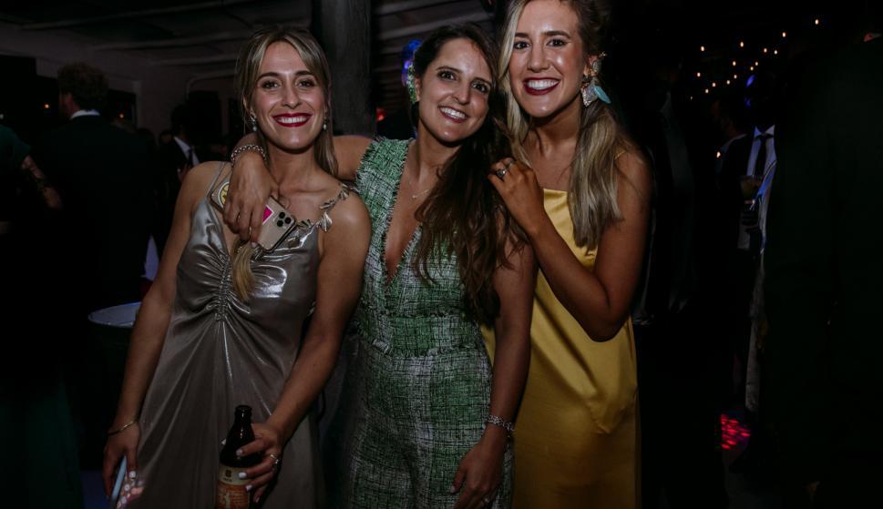 Lucía De Simone, Claudina Briozzo, Florencia Rotondaro.