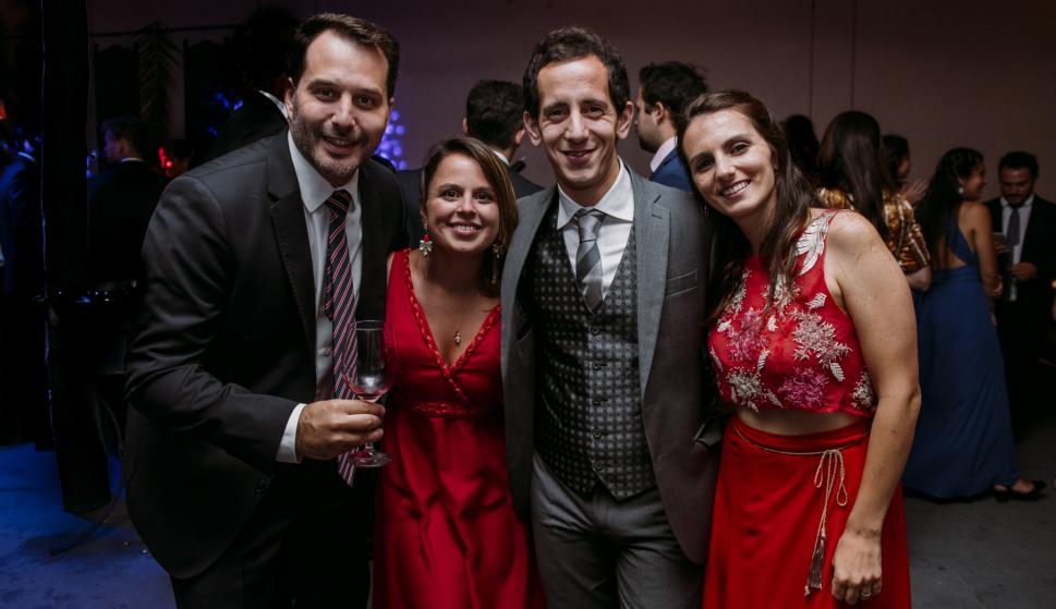 Nicolás Brida, Florencia Perona, Nahuel Danoni, Mariangeles Perona.