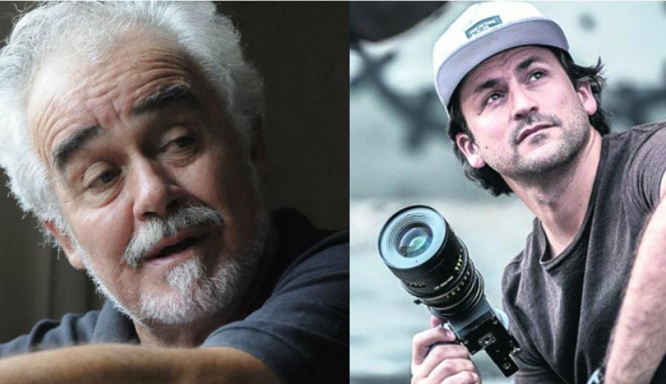 César Charlone y Pedro Luque, dos de los uruguayos que votan en los Oscar. Foto: Archivo