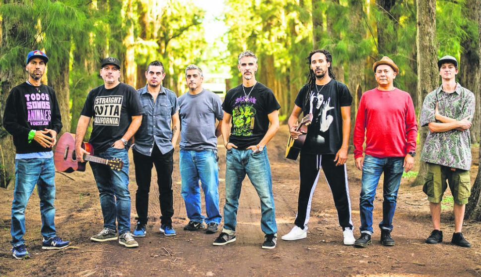 La banda argentina Los Cafres. Foto: Difusión