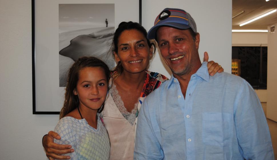 Catalina Domínguez, Magdalena Herrera, Martín Domínguez.