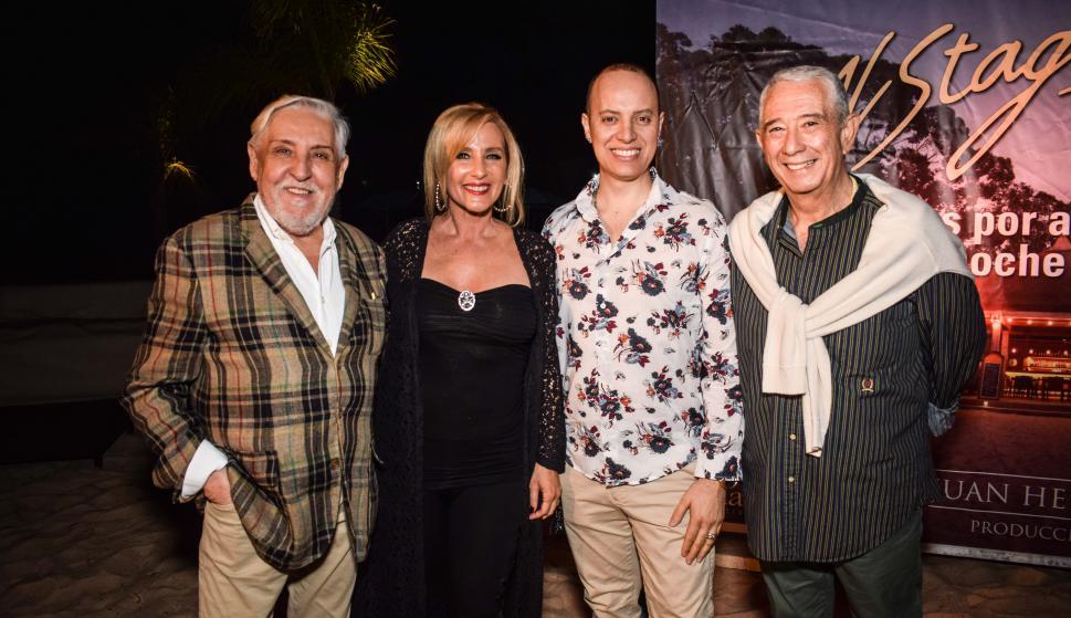 Nelson Mancebo, Laura Martínez, Horacio Correa, Sergio Puglia.