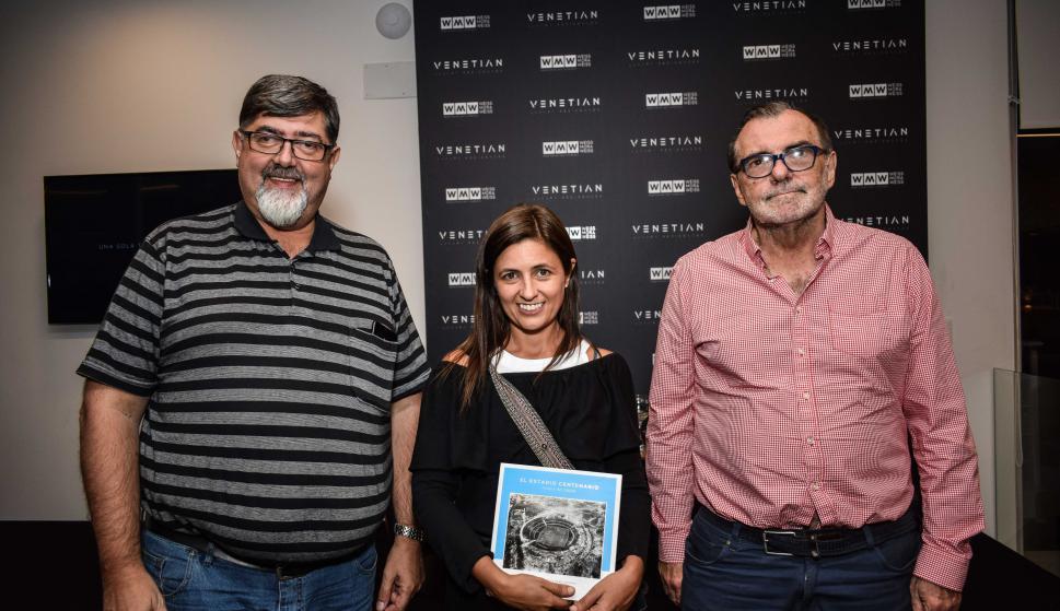 Mario Romano, Jimena Maresca, Alberto Magnone.