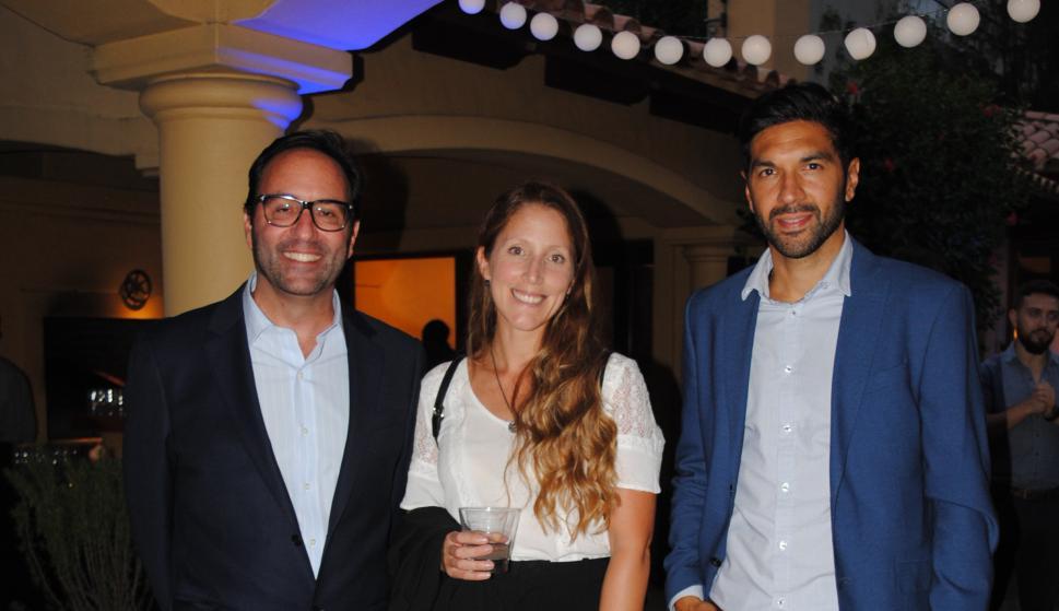 Francois Borit, Katerine Arrizala, Pedro Sierra.