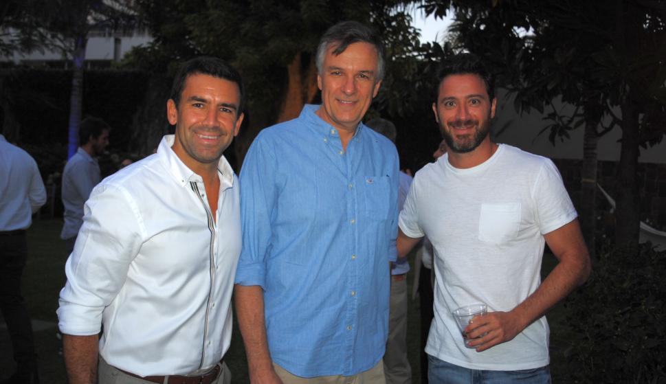 Ignacio Del, Mario Tucci, Alejandro Esperanza.