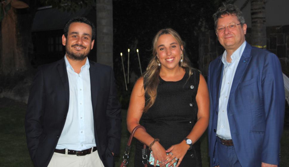 Martín Soca, María Emilia Caraballo, Albert Colomero.