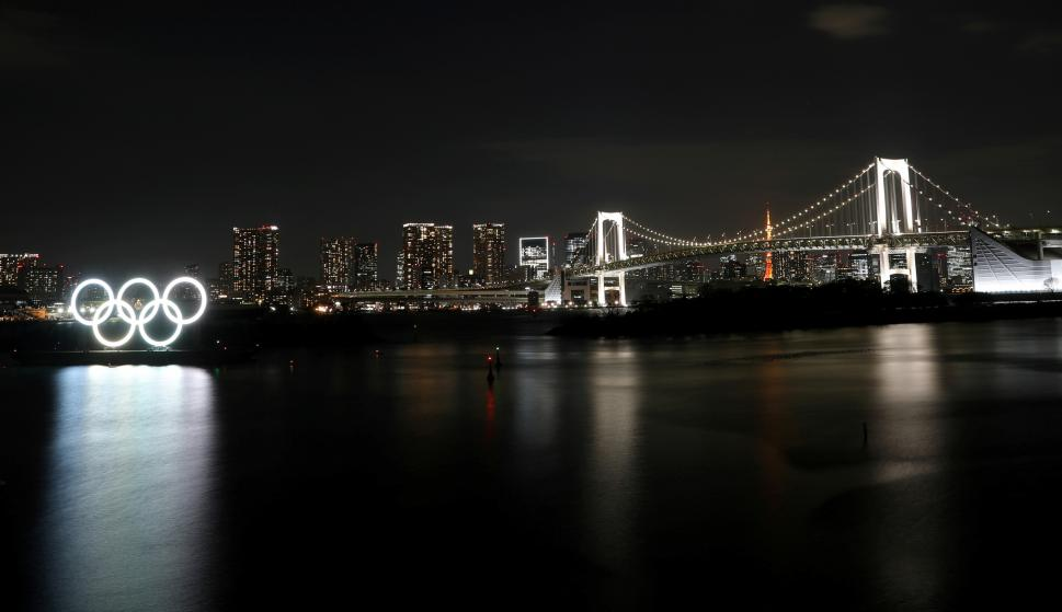 Tokio se prepara para recibir a los Juegos Olímpicos. Foto: AFP.