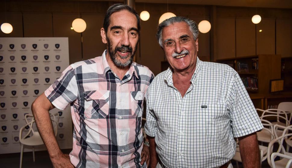 Eduardo Escuder, Jorge Genta.