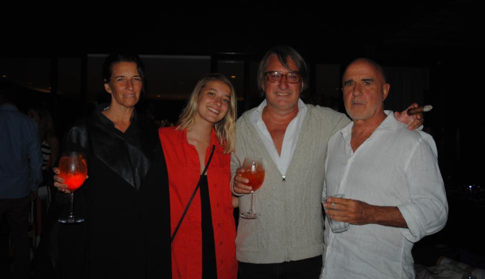 Luz, Isabel y José Aladro, Marcelo Suárez.