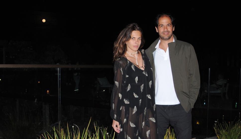 Melanie y Constantino Bittencourt.