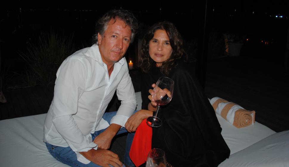 Paul y Alejandrina Rodger.