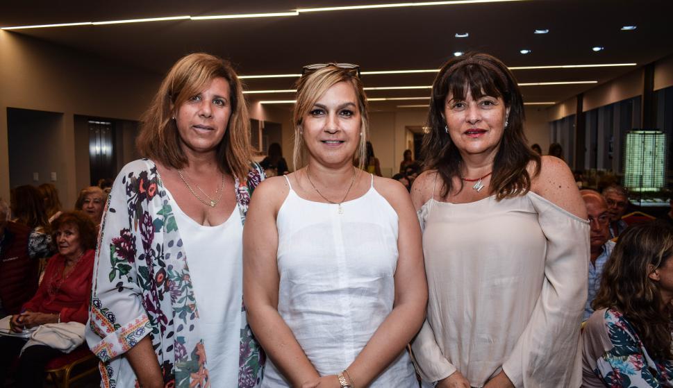 Gabriela Yurcho, Fabiana Paccini, Marcela Furlan.