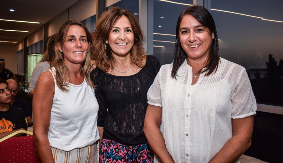 Valentina Villagrán, María Fernández, Analie Akiki.