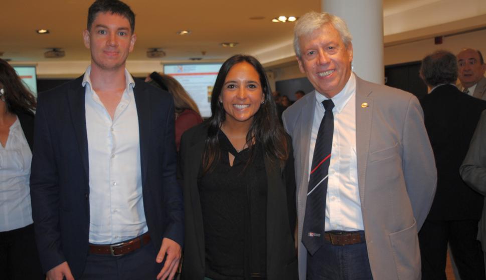 Álvaro Cabral, Andrea Chanquet, Santiago Pereira.