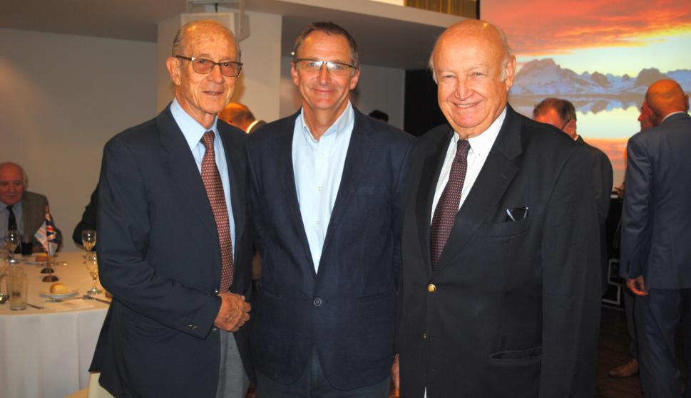 Ricardo Zerbino, Mark Teuten, Daniel Supervielle.