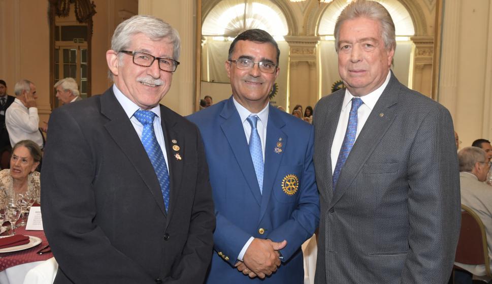 Alfredo Delgado, Mariano Rodrigo, Jorge Tomasi.