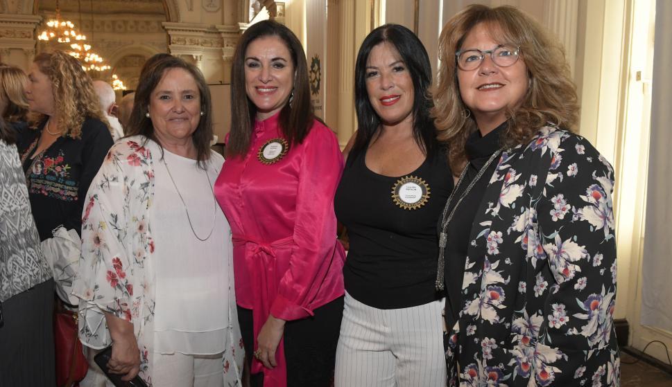 Ana Inés Varela, Anabel Aldaz, Lourdes Rapalin, Mónica Rossi.