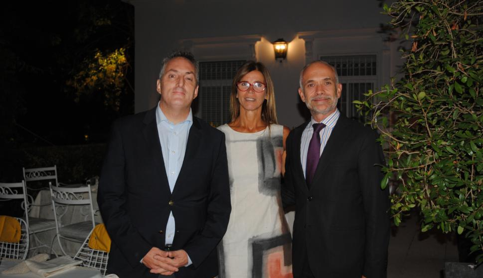 Federico Perazza, Eleonora Rodríguez, Daniel Castillos.