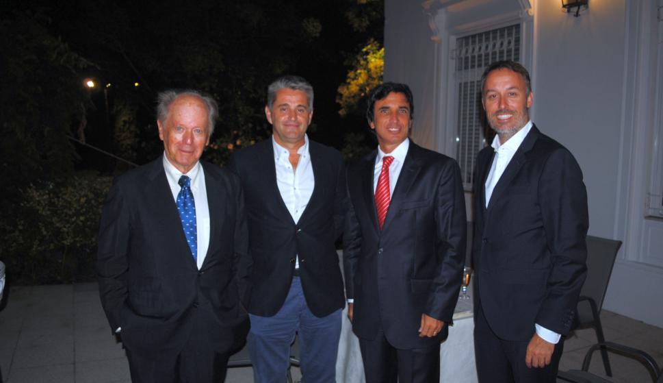 Matías Chlapowski, Jesús Viadero, Santiago Smith Estrada, Sean Summers.