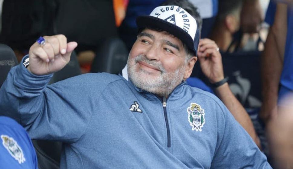 Diego Armando Maradona. Foto: La Nación.