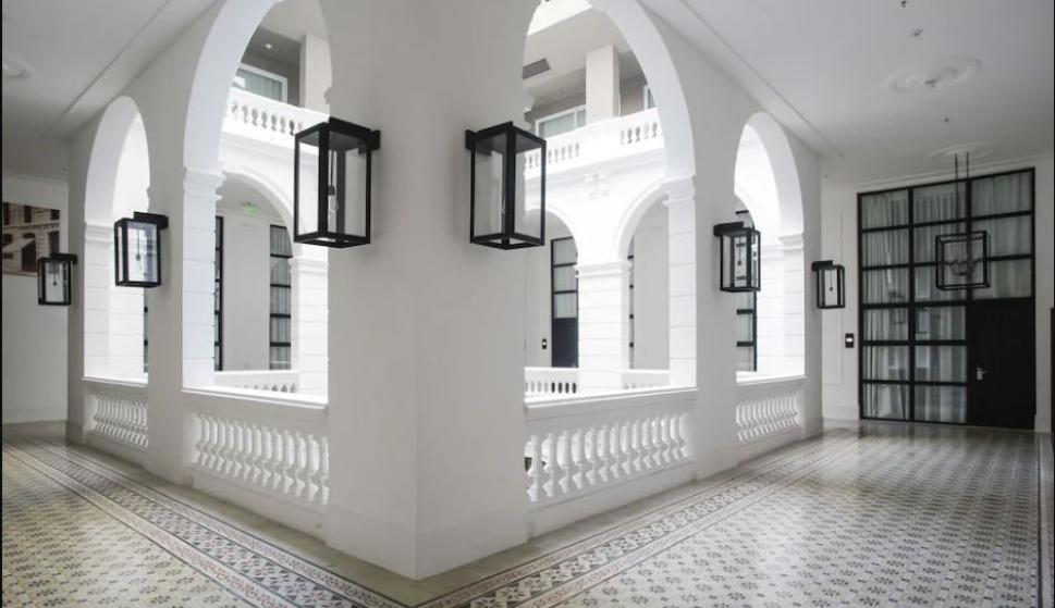 Hotel Palmaroga, donde Ronaldinho cumple su prisión domiciliaria