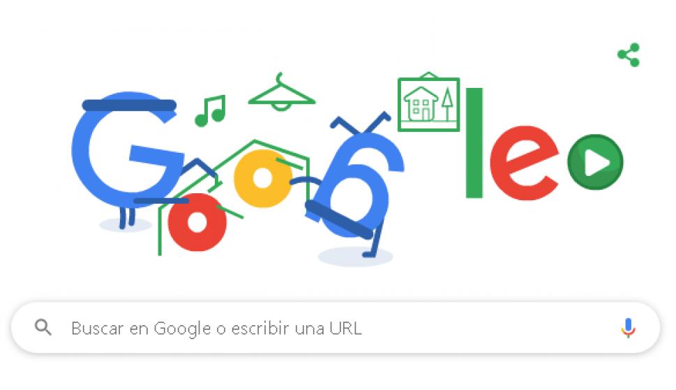 """Los juegos de doodles de Google más populares: hoy se publicó """"Hip Hop"""" - 07/05/2020 - EL PAÍS Uruguay"""