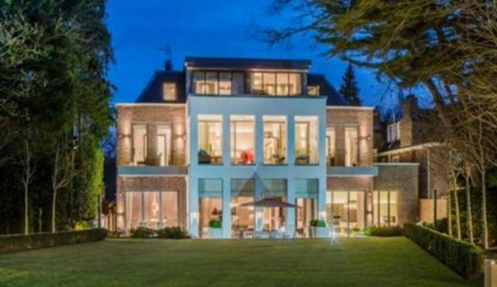 La mega mansión de Piere Emerick Aubameyang