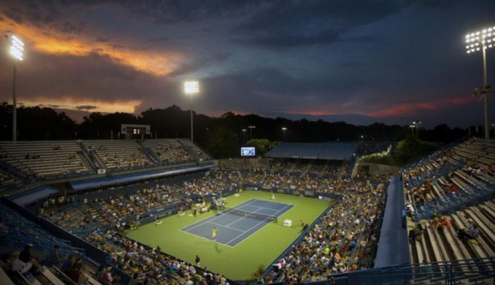 El ATP 500 de Washington marcará el reinicio del circuito profesional de tenis. Foto: EFE.