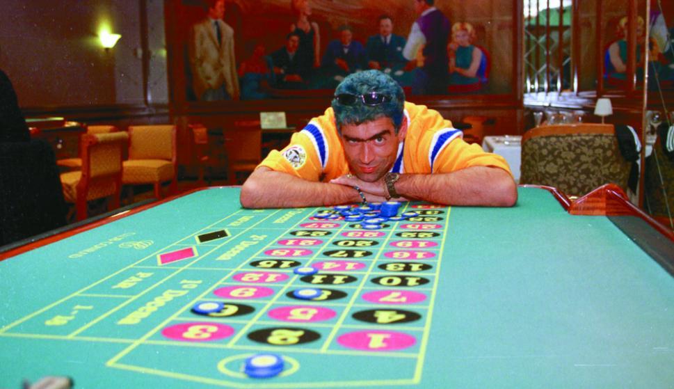 Rodrigo Bueno, El Potro, en el Hotel Conrad en el año 2000. Foto: Archivo El País