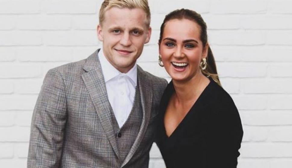 Danny van de Beek se enamoró de la hija de Dennis Bergkamp