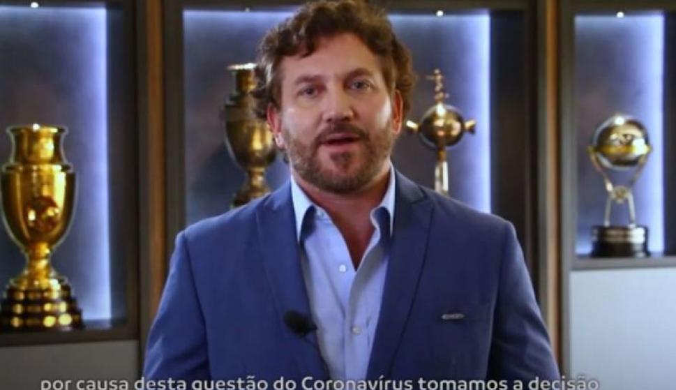 El mensaje de Alejandro Dominguez, presidente de Conmebol