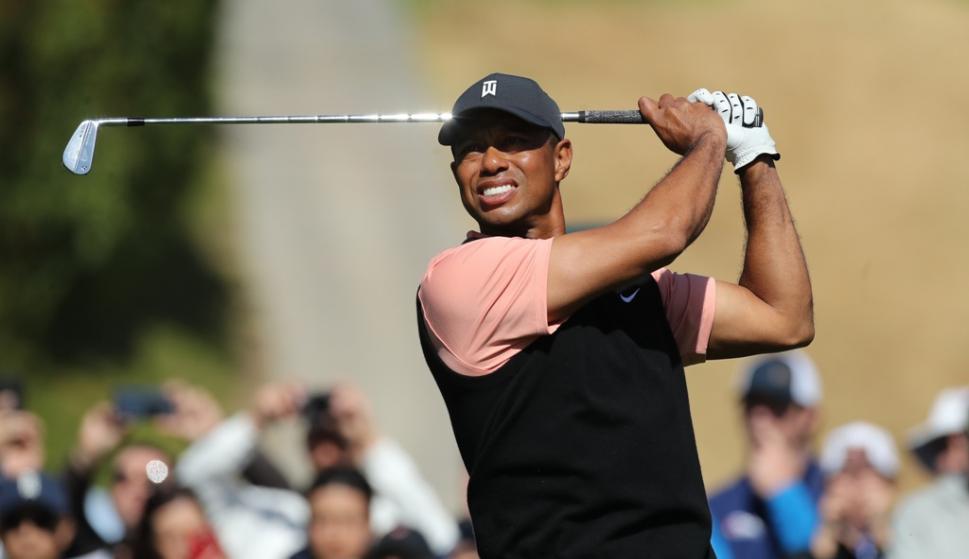 Tiger Woods. Foto: EFE.