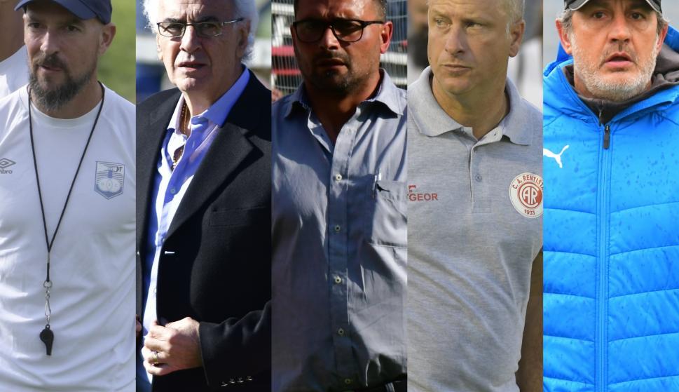 Técnicos del fútbol uruguayo.