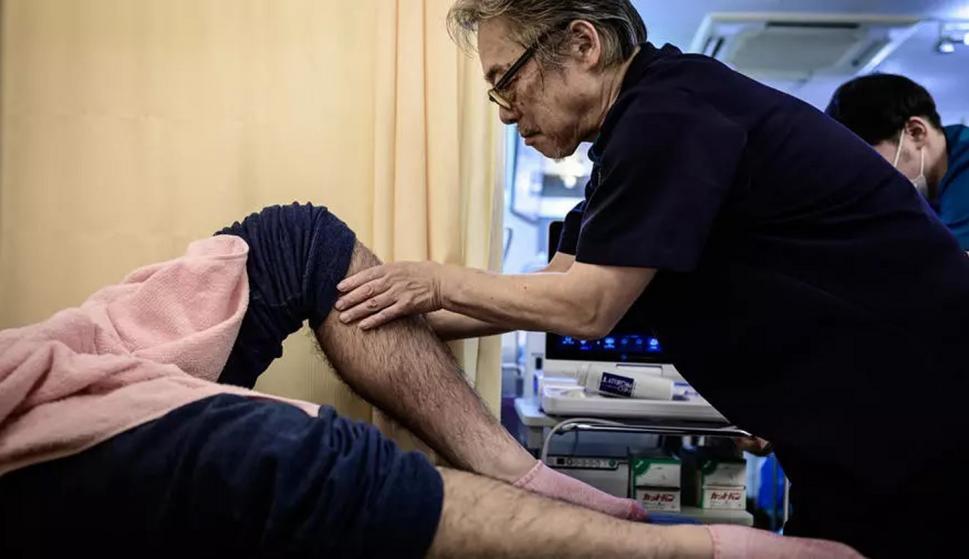 Judo como terapia. Foto: AFP