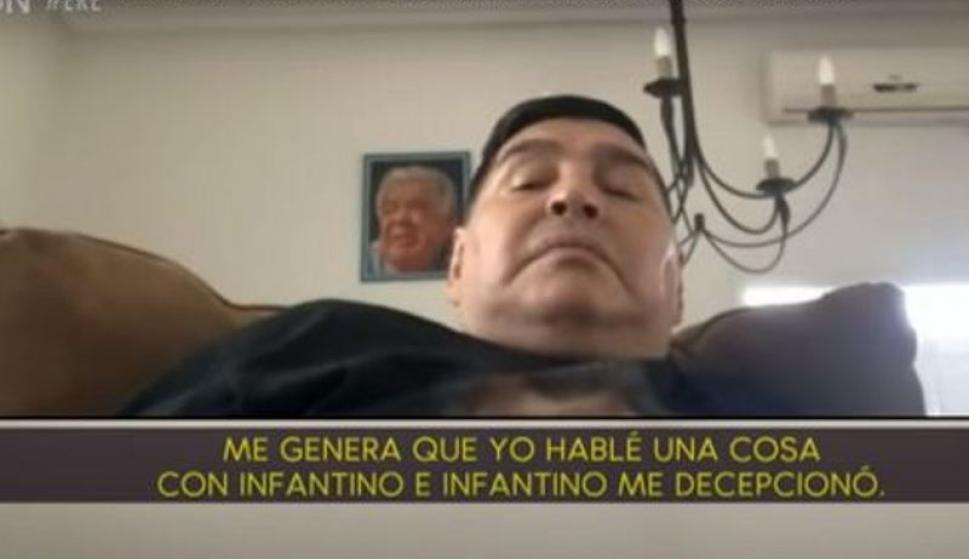 Diego Maradona y sus duras declaraciones contra Gianni Infantino y Mauricio Macri