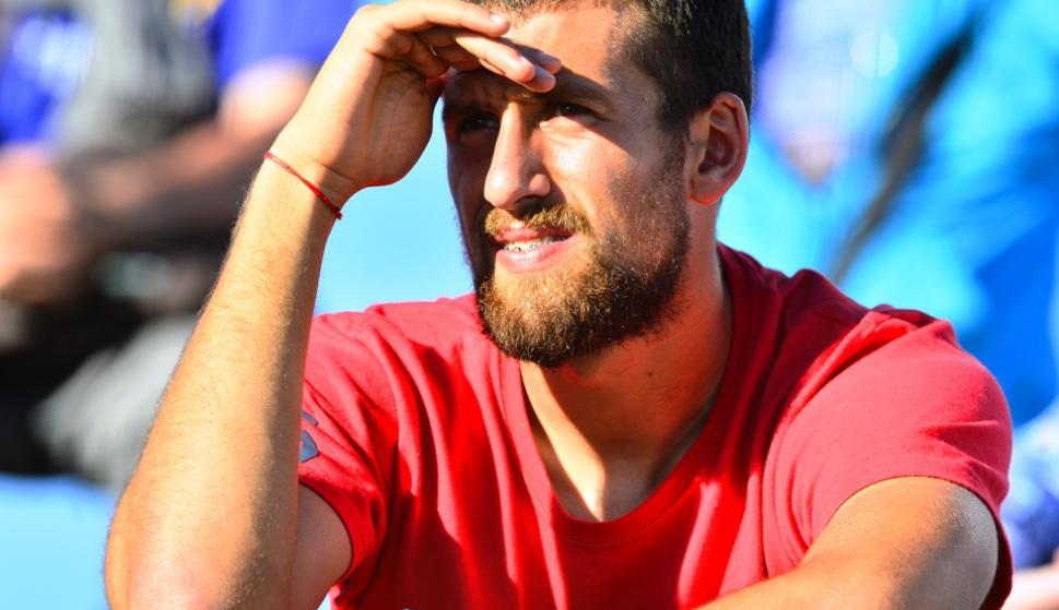 Guzmán Corujo. Sufrió un leve esguince de tobillo en el amistoso contra Cerro Largo.