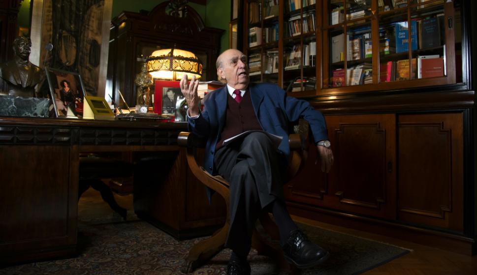 Julio María Sanguinetti. Foto: Leonardo Mainé