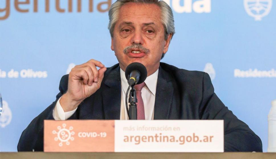 """Fernández sobre cepo cambiario: """"Hace falta cuidar los dólares"""" para """"producir y dar trabajo"""" – 22/09/2020"""