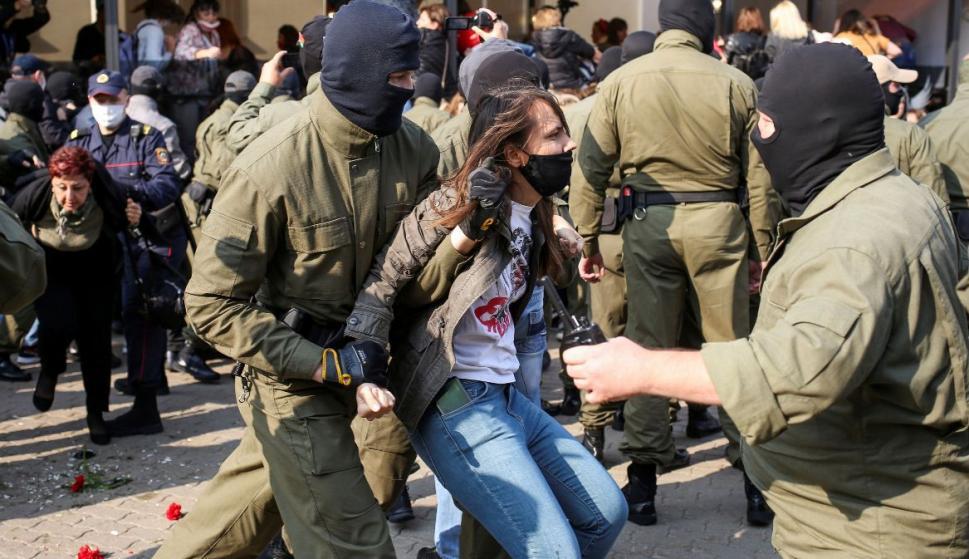 Quinto domingo de protestas contra el régimen bielorruso – 14/09/2020