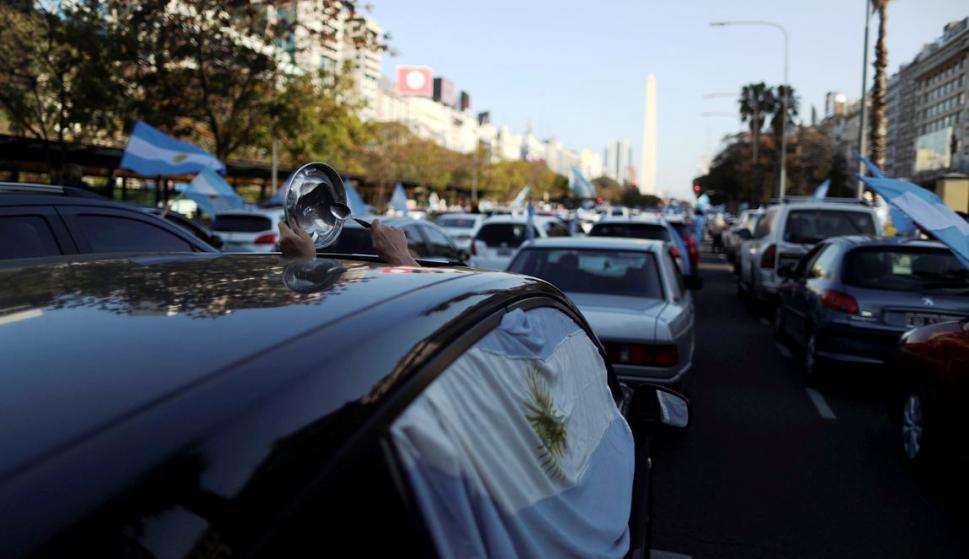 """Otro """"banderazo"""" en Argentina, aunque con menos gente – 14/09/2020"""