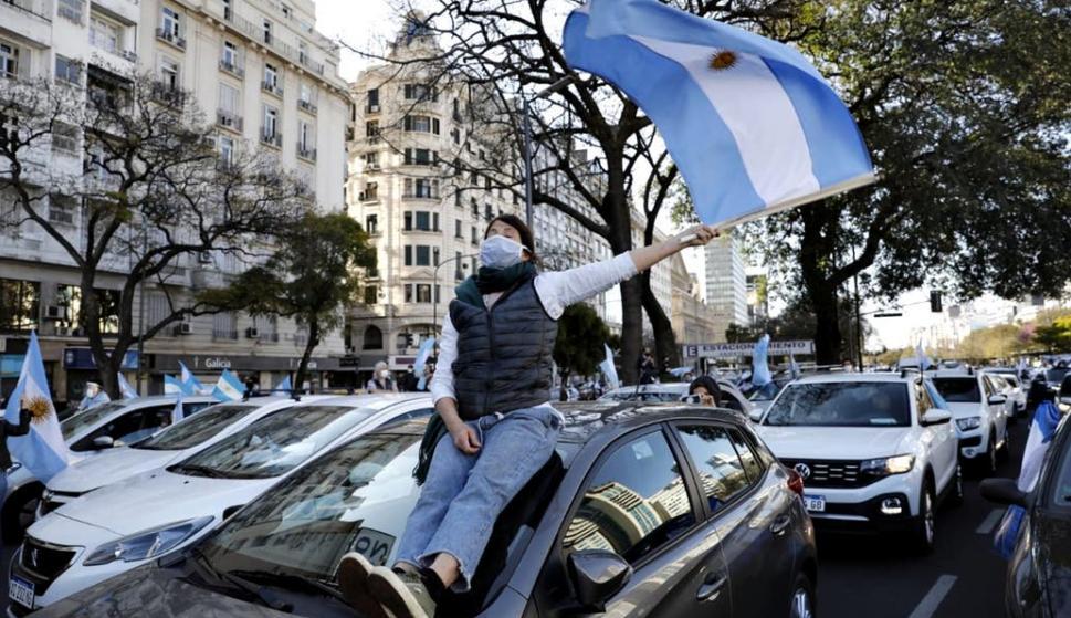 Protesta en Argentina: rechazan la decisión de desplazar a tres jueces – 20/09/2020