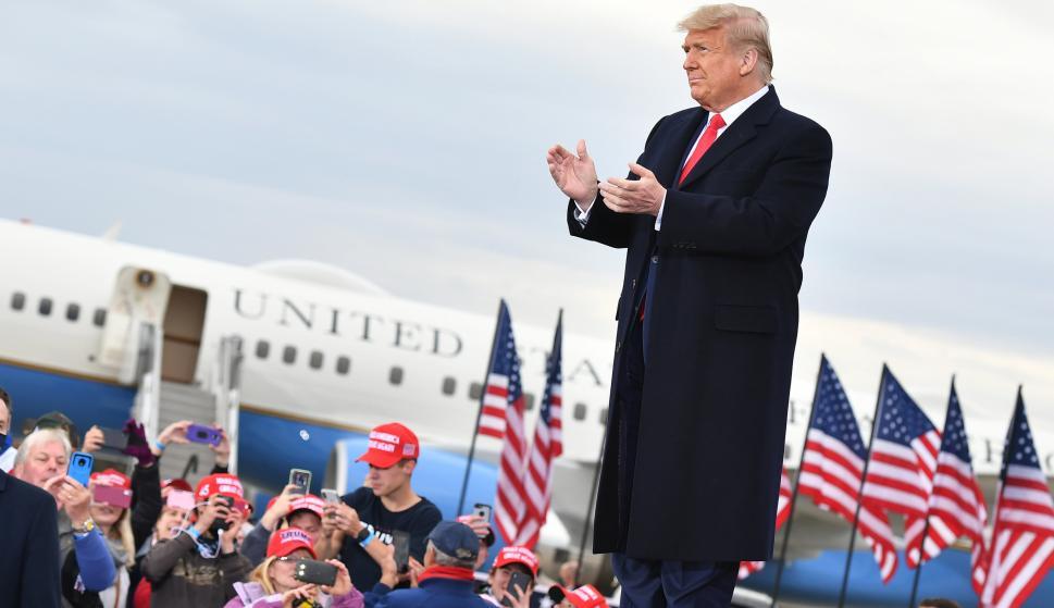 """Trump difunde historia dudosa sobre hijo de Biden y llama """"corrupto"""" al candidato demócrata – 18/10/2020"""
