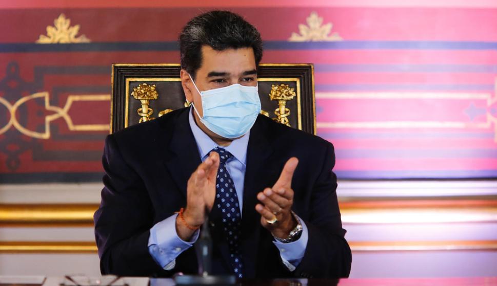 """Maduro dijo que Venezuela consiguió """"una medicina que anula el 100 % el coronavirus"""" – 26/10/2020"""
