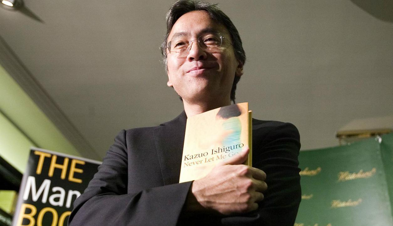 Kazuo Ishiguro, ganador del Premio Nobel de Literatura 2017. Foto: AFP.