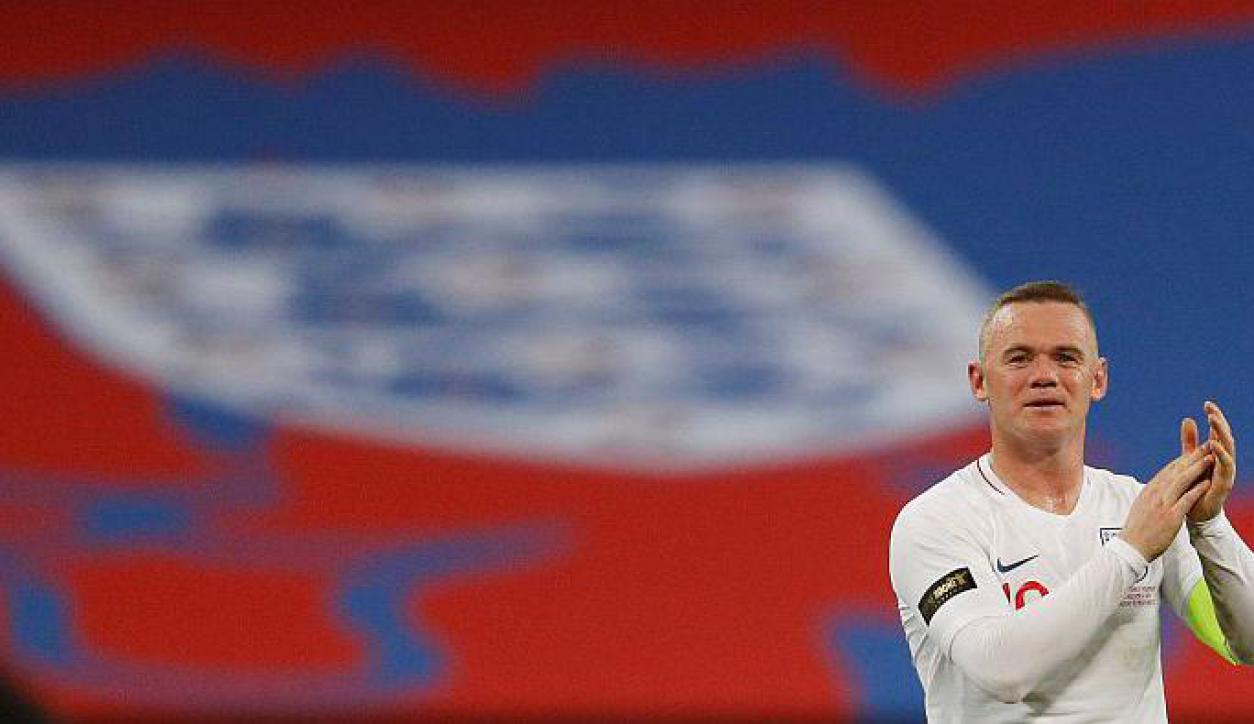La despedida de Wayne Rooney de la selección inglesa.