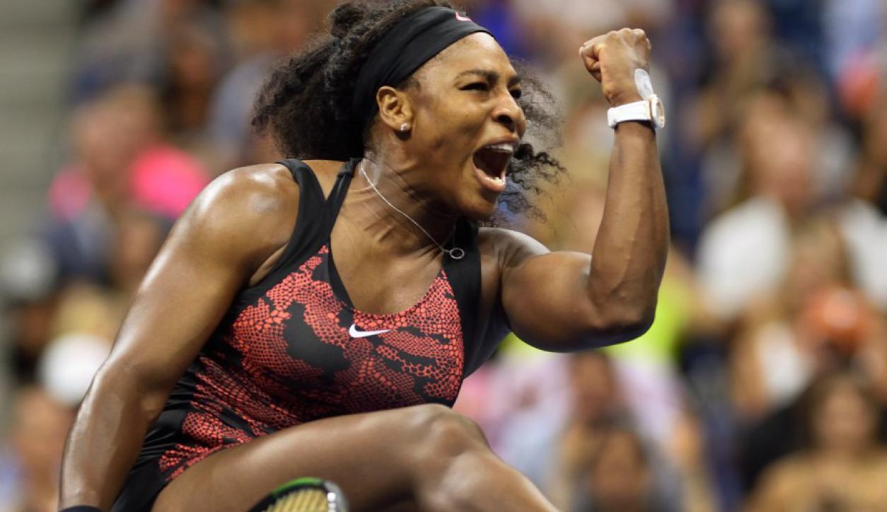 Serena. La menor de las Williams es la favorita en la previa del partido de cuartos. Foto: AFP