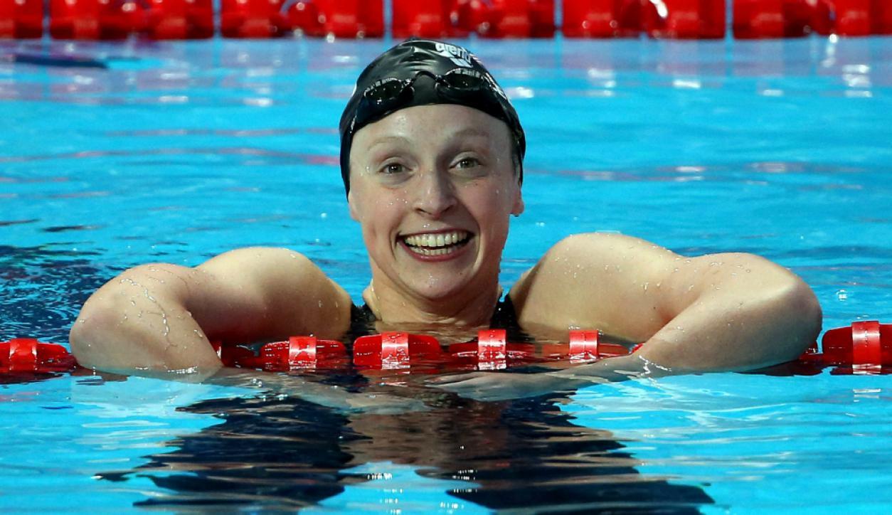Katie Ledecky es la mejor nadadora de EE.UU.