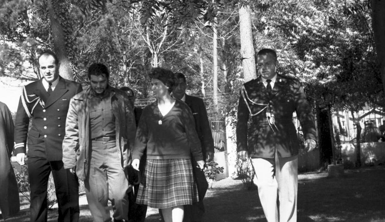 Ernesto Che Guevara en Punta del Este. Foto: El País