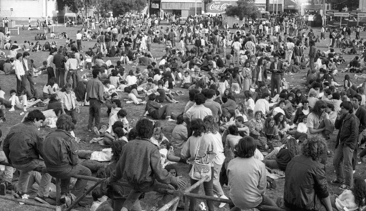 Montevideo Rock 1986. Foto: Archivo El País